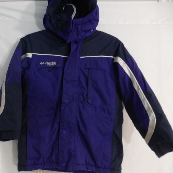 COLUMBIA VERTEX boy's winter jacket size 7-8 used